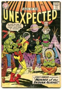 Tales Of The Unexpected #44 1959-Space Ranger-Menace of Indian Aliens