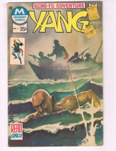 Yang #10 VG Modern Comics Kung-Fu Adventure Comic Book DE7