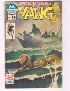 Yang #10 VG Modern Comics Kung-Fu Adventure Comic Book DE7