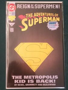 The Adventures of Superman #501 Reign of the Supermen