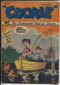 Cookie #14 1948-ACG-Al Hartley GGA-headlights-swimsuit poses-VG