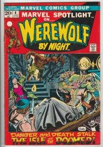 Marvel Spotlight on Werewolf by Night # 4 strict FN/VF+ artist Mike Ploog