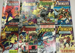 AVENGERS#172-206 FN-VF LOT (8 BOOKS) 1978 MARVEL BRONZE AGE COMICS