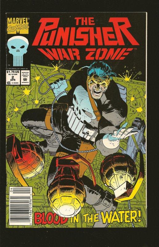 Marvel Comics The Punisher: War Zone #2 (1992)