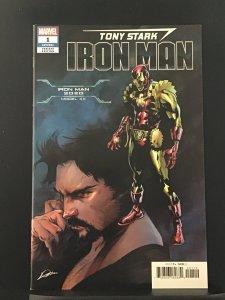 Tony Stark: Iron Man #1 (2018)