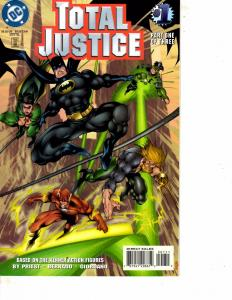 Lot Of 3 Total Justice DC Comic Books #1 2 3 Batman Superman ON13