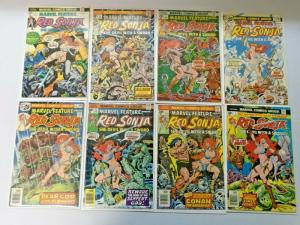 Bronze Age Red Sonja 2 sets lot 22 different books average 6.0 FN (1976)