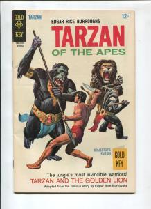 TARZAN #172 1967-GOLD KEY-VF/NM