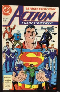 Action Comics Weekly #601 (1988)