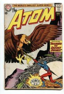 THE ATOM #5-1963-DIAMOND HAWK ATTACK! COVER-DC WAR SILVER AGE G