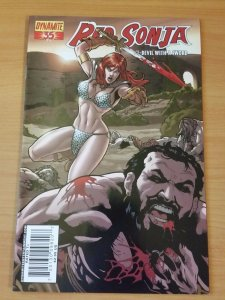 Red Sonja #35 Cover C ~ NEAR MINT NM ~ 2008 Dynamite Comics