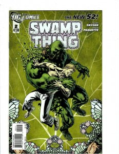 13 Swamp Thing DC Comics #2 3 4 5 6 7 8 9 10 11 12 12 0 Animal Man Batman HR5