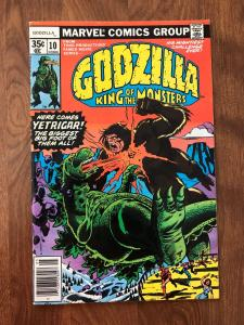 Godzilla: King of the Monsters #10 (Marvel; May, 1978) - VF