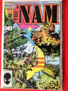 THE NAM V1 #1  1986 MARVEL 25 ANNIVERSARY / HIGH QUALITY