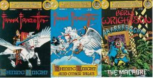 MASTERWORKS SERIES (1983) 1-3  Frazetta, Wrightson