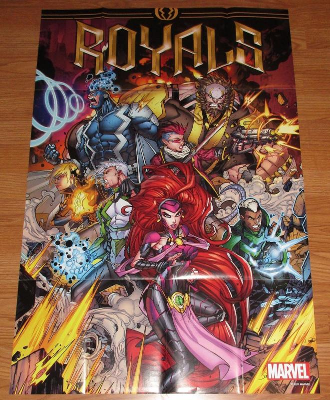 Royals Folded Promo Poster - Inhumans / Marvel (24 x 36) - New!