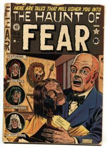 Haunt of Fear #8 1951- EC Horror comic book Shrunken head cover