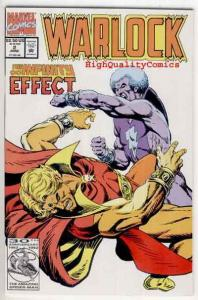 WARLOCK #2, Vol 2, NM,  Thanos, 1992, Trial of, more Marvel in store