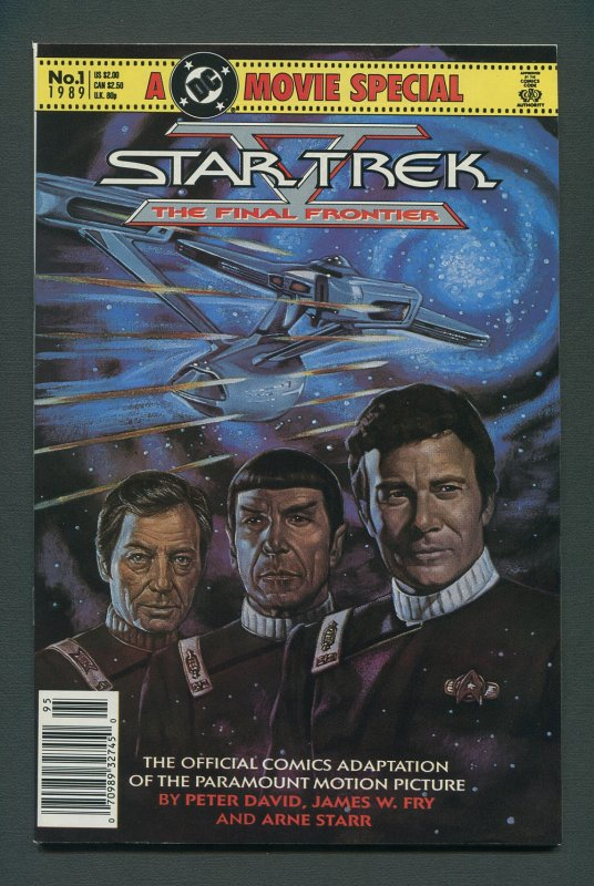 Star Trek Final Frontier Movie Special #1   8.5 VFN+  1989
