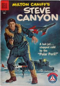 Milton Caniff's Steve Canyon #804 (Apr-57) FN/VF+ High-Grade Steve Canyon