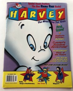 Harvey Kids Magazine #1 ~ December 1998 ~ 1st Issue!  UnCirculated  Sm defects!