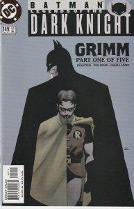 Batman – Legends of the Dark Knight # 149,150,151,152,153  Grimm Parts 1-5