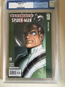 Ultimate Spider-Man #18 Marvel 2002 CGC 9.8