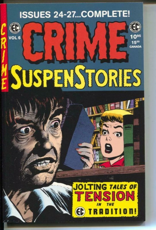 Crime Suspenstories Annual-#6-Issues 24-27-TPB- trade