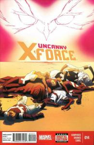 Uncanny X-Force (2nd Series) #14 VF; Marvel | save on shipping - details inside