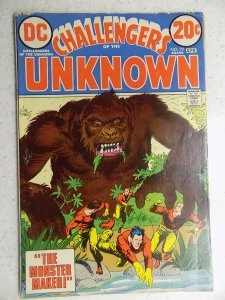 CHALLENGERS OF THE UNKNOWN # 79