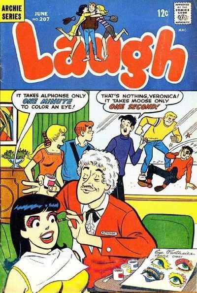 Laugh Comics #207, Fine- (Stock photo)