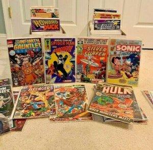 Estate Sale COMIC Lot collection long box  SpiderMan Guaranteed F-NM