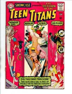 Showcase Presents #59 - 3rd Teen Titans appearance - 1965 - VG/FN