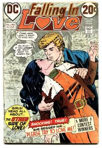 FALLING IN LOVE #136 comic book 1972-DC ROMANCE COMIC