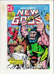 NEW GODS #4, VF/NM, Jack Kirby DC, 1984 more Kirby, DC in store