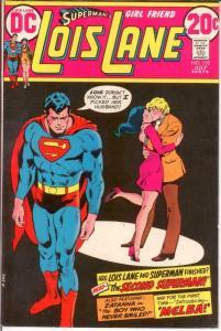 LOIS LANE 132 VF July 1973 Zatanna, Melba b/ups COMICS BOOK