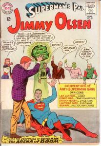 JIMMY OLSEN 87 FR-G Sept. 1965 COMICS BOOK