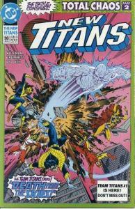 New Titans #90, NM + (Stock photo)