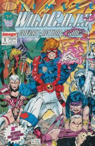 WildC.A.T.s #1 VF/NM; Image | jim lee wildcats 1st print 1st appearance grifter