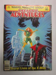 Bizarre Adventures (1981 Magazine) #27, 6.0