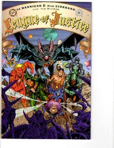 2 League of Justice DC Comic Books Book 1 2 Graphic Novel Giordano JLA BH12