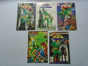 The Fly set #1-9 6.0 FN (1983 Red Circle/Archie)