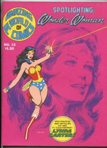 AMAZING WORLD OF DC COMICS #15 1977-WONDER WOMAN-LYNDA CARTER-NEAL ADAMS-fn//vf