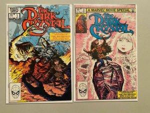 The Dark Crystal Direct Edition Set #1-2 6.0 FN (1983)