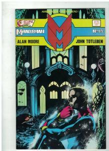 MIRACLEMAN 14 VF April 1988 Alan Moore