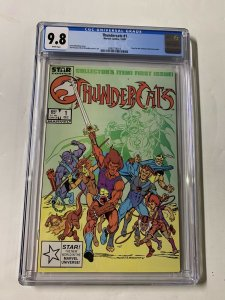 Thundercats 1 Cgc 9.8 White Pages 1st Appearence Marvel Copper 013