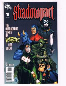Shadowpact #1 VF DC Comics Day Of Vengence Comic Book Willingham DE14