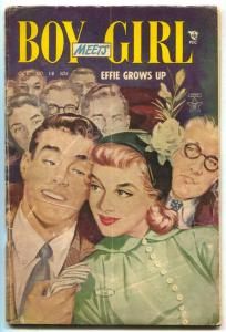 Boy Meets Girl #16 1951-Golden Age romance comic VG-