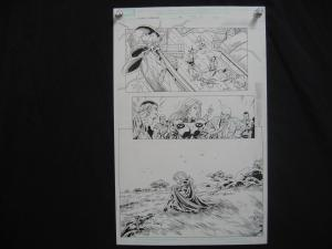TOM GRUMMETT*X-MEN FOREVER-#15-ORIGINAL ART-PG11-MARVEL FN