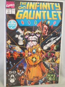 The Infinity Gauntlet #1 in  VF/NM condition. Unread copy! 1991
